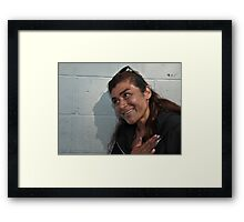 """ Pop's I swear "" Framed Print"