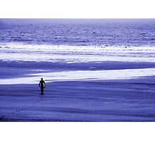The Lone Surfer 2 Photographic Print
