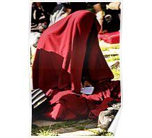 red shade. dharamsala, northern india Poster