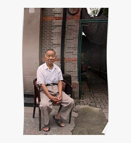 The Casual Observer - Shanghai, China Poster