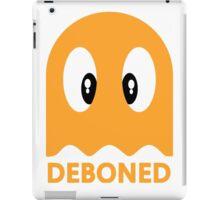 Deboned ghost - ORANGE iPad Case/Skin