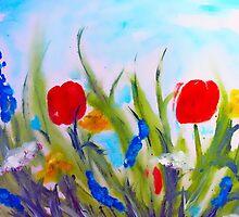spring  garden by AtelierZiehr