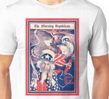 The morning Republican Uncle Sam Poster 1898 Restored Unisex T-Shirt