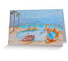 Swallows and Amazons Greeting Card