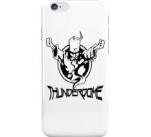Thunderdome Logo iPhone Case/Skin