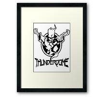 Thunderdome Logo Framed Print