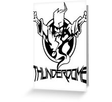 Thunderdome Logo Greeting Card