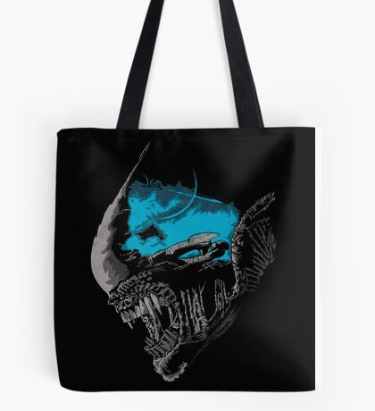 On A Dark Moon. Tote Bag