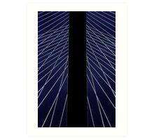 Bridge Pylon for Barnett Newman Art Print