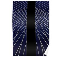 Bridge Pylon for Barnett Newman Poster