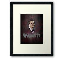 Agent Grant Ward Framed Print