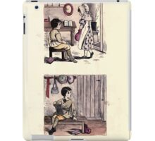 The Little Folks Painting book by George Weatherly and Kate Greenaway 0181 iPad Case/Skin