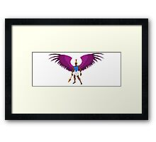 Michael the Arch Angel Framed Print