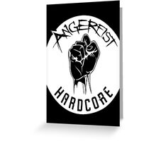 Angerfist Logo Greeting Card