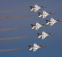 Thunderbirds at Davis-Monthan Airshow by pandapix