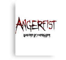 Angerfist Master Of Hardcore Canvas Print