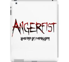 Angerfist Master Of Hardcore iPad Case/Skin