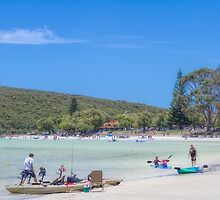 Life's a Beach in Albany, Western Australia by Elaine Teague