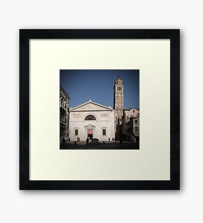 All These People - Venice, Campo San Maurizio Framed Print