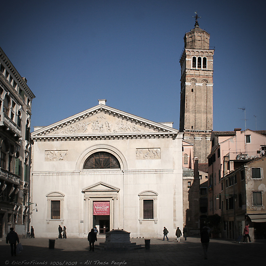 All These People - Venice, Campo San Maurizio by Eric Strijbos