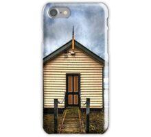 Ballarat Boat Shed iPhone Case/Skin
