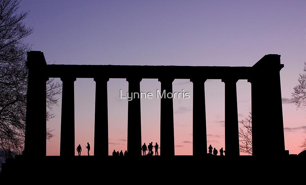 Sunset Watchers by Lynne Morris