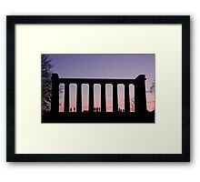 Sunset Watchers Framed Print