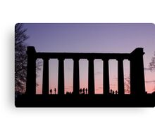 Sunset Watchers Canvas Print