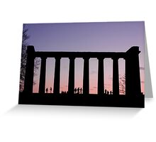 Sunset Watchers Greeting Card