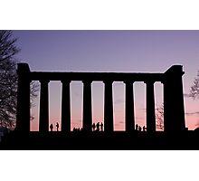 Sunset Watchers Photographic Print