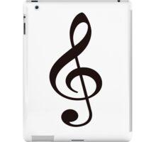 Music Treble Clef Note iPad Case/Skin