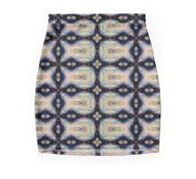 Black Printed Designer Mini Skirt , Marijke Verkerk Design Mini Skirt