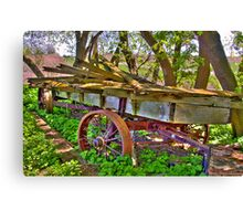 The Old Wagon Canvas Print