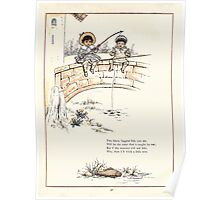 Under the Window Pictures and Rhymes for Children Edmund Evans and Kate Greenaway 1878 0062 Fishing Boys Poster