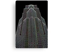 Office Block Abstract Canvas Print