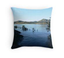 Lake Moogerah Throw Pillow