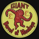 GIANT Barrel of monkeys by Yvette Bell