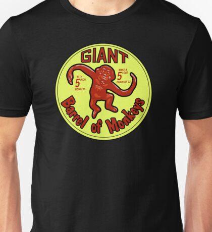 GIANT Barrel of monkeys Unisex T-Shirt