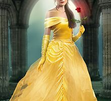 BELLE in Beauty and the Beast concept art by AxteleraRay
