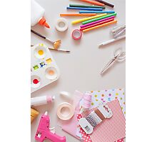 Crafting tools Photographic Print