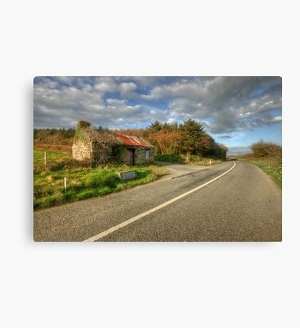 Ruined cottage Canvas Print