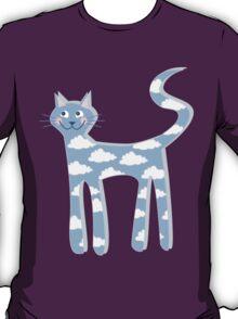cat clouds T-Shirt