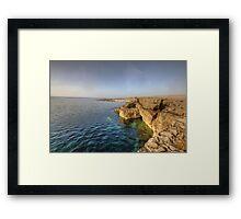 Fanore coastline Framed Print