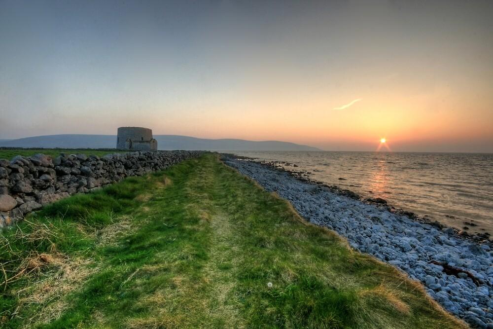 Sunset at Finavarra by John Quinn