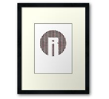 Reynholm Industries- Moss Face Framed Print
