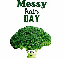Messy hair day by Melinda Szente