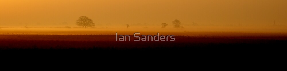 Fenland Dawn by Ian Sanders