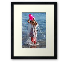 A Water Veil - how to cool off Framed Print