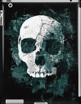 Skull Grunge by David Atkinson