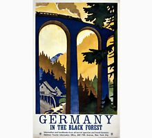 Germany In the Black Forest Vintage Poster Restored T-Shirt